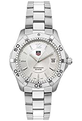 TAG Heuer Men's WAF1112.BA0801 Silver Aquaracer Watch