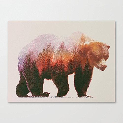 Brown Bear Canvas Picture 12