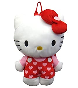 Hello Kitty Plush Hearts Jumper Backpack by Sanrio