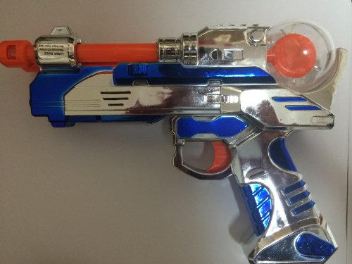 Light-up LED Pistol Gun Laser Blaster with Sounds Gl-sppis - 1