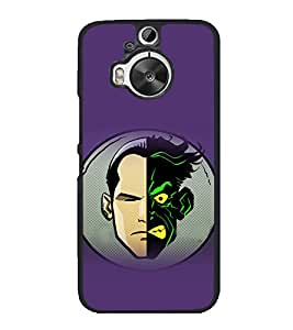 printtech Two Face Gotham Back Case Cover for HTC One M9 Plus