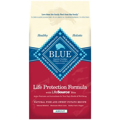 Blue Buffalo Dry Dog Food, Fish and Sweet Potato