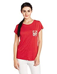 Cherokee Women's Body Blouse Top (268472391_Red_M)