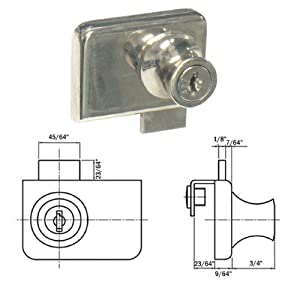 how to open a deadbolt lock with a drill