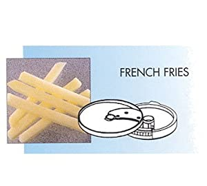 "Robot Coupe 28135 French Fries 10"" x 10"" Cl50 by Robot Coupe"