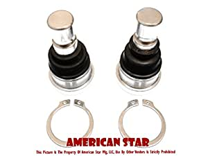 American Star Polaris RZR & Ranger Ball Joint Set (2) for RZR XP 900 11-up, RZR 800 08-up (all), RZR 570 12-up, Ranger XP 900 11-up, Ranger XP 900 D 11-up, Ranger XP 800 10-up, Ranger XP 700 09, Ranger 4x4 500 09-10