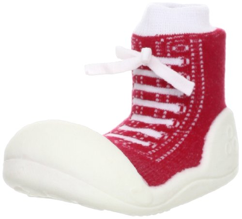 Attipas Baby / Toddler First Walking Shoes - Sneaker Design - Red - Large