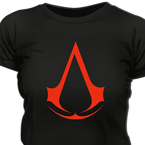 Creepyshirt - ASSASSINS CREED INSPIRED WOMAN T-SHIRT - XXL