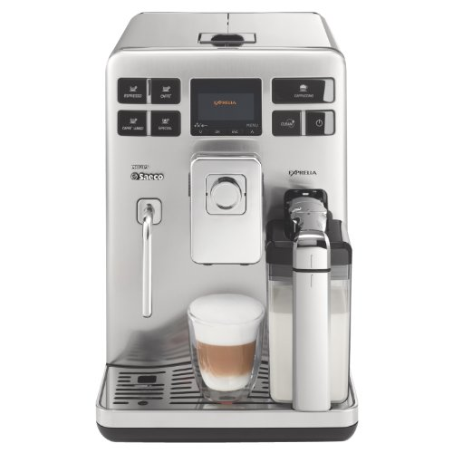 philips saeco hd8856 47 exprelia automatic espresso machine stainless steel appliances for home. Black Bedroom Furniture Sets. Home Design Ideas