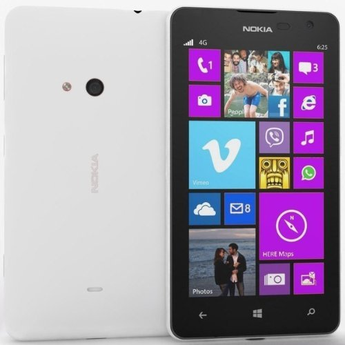 "New Nokia Lumia 625 8Gb White 3G 4G Lte Smartphone 4.7"" 5Mp ★ Factory Unlocked Best Gift Fast Shipping Ship All The World"