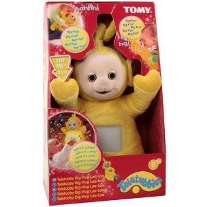 Tomy Teletubbies Big Hug Teletubby La La Plush Musical Talking Doll