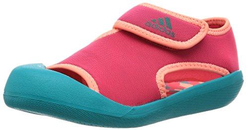 [アディダス] adidas(アディダス) CHILD サンダルファン C AF3878 AF3878 (ショックレッド S16/ショックグリーン S16/サングロー S16/17.0)