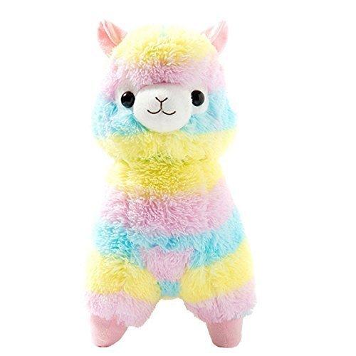 Cuddly-Llama-Rainbow-Alpaca-Doll-7-Soft-Baby-Stuffed-Animal-Toy-Puppet-Doll-Valentines-Day-Birthday-Xmas-Christmas-Wedding-Anniversary-Presents-Gifts