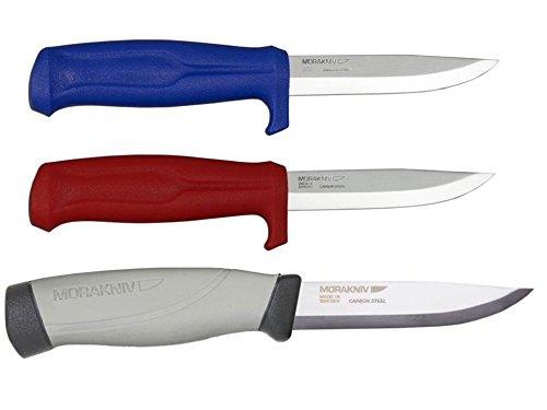 Bundle - 3 Items: Morakniv Craftline Q Allround 546 Stainless Steel Knife, Morakniv Craftline Q Allround 511 Carbon Steel Knife, Morakniv Craftline Highq Robust Carbon Steel Knife