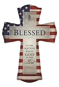 USD20 Amazon Gift Card Wedding Registry : Amazon.com: Blessed Is The Nation Whose God Is The Lord Canvas Wall ...