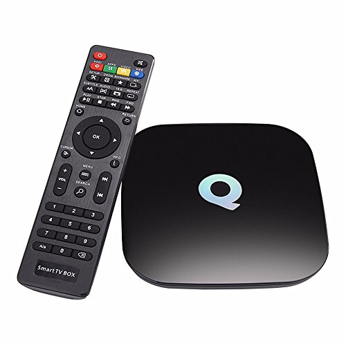 Q-Box Android 5.1 TV BOX Amlogic S905 2GB RAM 16GB ROM Smart TV Box Dual Band WiFi BT4.0 KODI