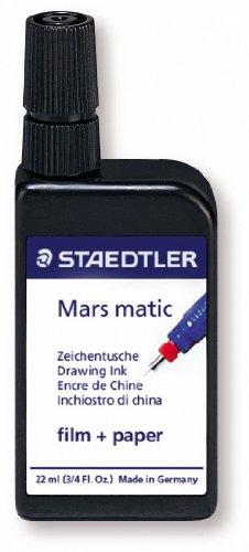 Staedtler 745 M2-9 Encre de chine Mars matic multi-supports 22ml (Noir)