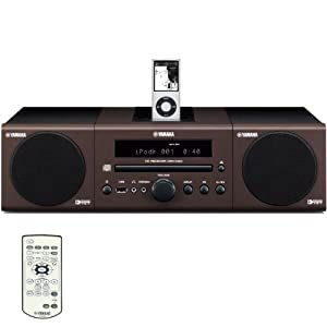 Yamaha MCR-040BR Micro Component System (Brown) (Discontinued by Manufacturer)