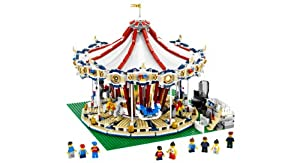 Lego Grand Carousel 10196 With Power Functions