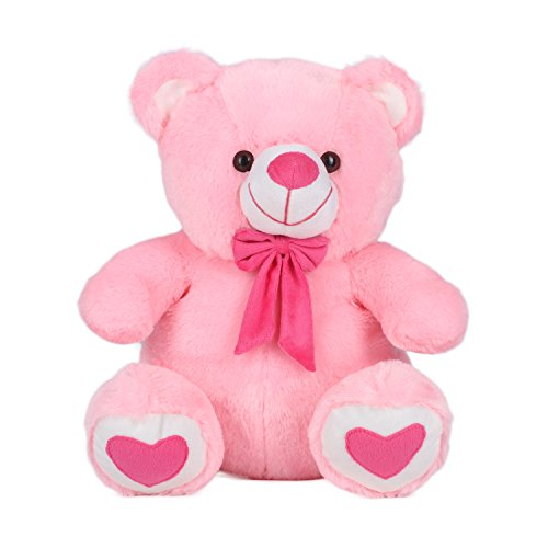 Kuddles-Spongy-Teddy-Bear-15-inches-Soft-Toy-Gifts-Pink