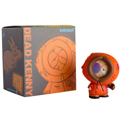 South Park: Collectible Dead Kenny Mini Figure by Kidrobot&reg;