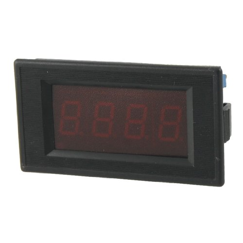 3 1/2 Digital Red Led Display Dc 0-20A Amp Panel Meter
