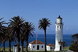 Alluring Lighthouse at Point Vicente, California - Gorgeous Photographic Print by Carol M. Highsmith