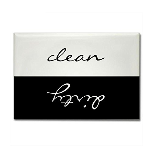 CafePress - Clean Or Dirty Dishwasher Rectangle Magnet - Rectangle Magnet, 2