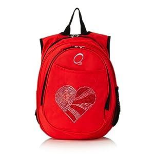 O3 Kid's All-in-One Pre-School Backpacks Heart