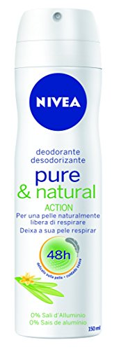 Nivea Deodorant Donna Pure&Natural Spray 150Ml