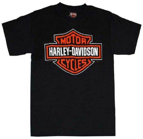 Harley-Davidson® Men's Black All Cotton Short Sleeve T-Shirt. Classic Bar & Shield Logo on Front. House of Harley-Davidson, Milwaukee, USA Logo on Backside. Tee. HOHPROMO