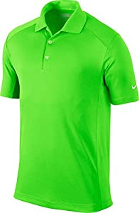 Nike Golf Men's Victory Polo Green Strike/White M