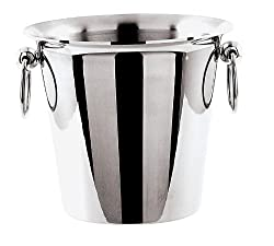 Paderno World Cuisine 1 Bottle Wine Bucket, Stainless Steel