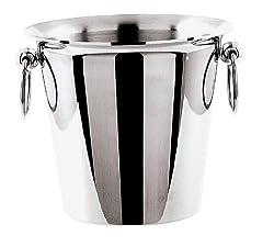 Paderno World Cuisine 1 Bottle Wine Bucket, Stainless Steel