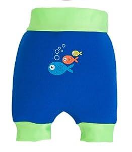 SwimBest Swim Nappy - 11-13 kgs / 12-18 months - Navy/Lime