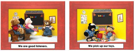 Key Education Publishing Manners Learning Cards