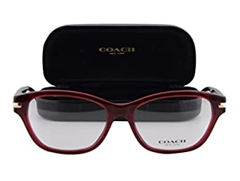 Coach Eyeglass Frame Warranty : Amazon.com: Coach HC6050 Lakota Eyeglasses 53-16-135 ...
