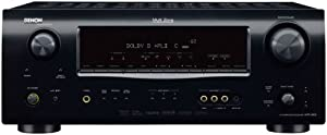 Denon AVR-1609 7.1-Channel Multi-Zone Home Theater Receiver (Discontinued by Manufacturer)