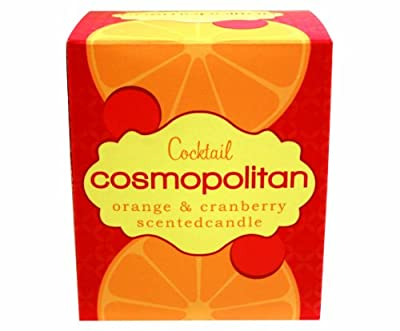 Gift Republic Cocktail Candle - Cosmopolitan Scented,Multi from Gift Republic