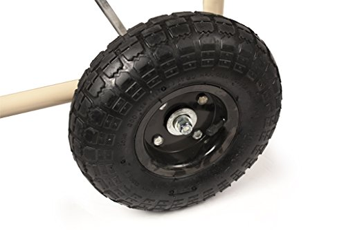 Liberty Garden Products 870 M1 2 Industrial 4 Wheel Garden Hose Reel Cart Holds 300 Feet Of 5 8