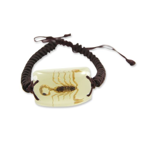 REALBUG Gold Scorpion Bracelet, Glow in the dark