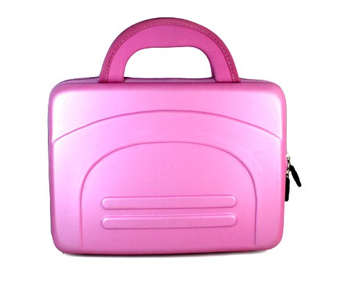 Haier Hlt71 7-Inch Portable Lcd Tv Eva Pink Cube Carrying Case Bag Pouch Cube