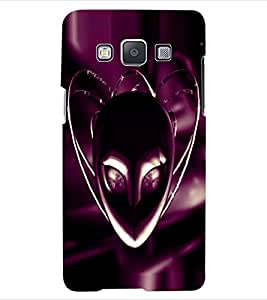 ColourCraft Mask Design Back Case Cover for SAMSUNG GALAXY E5
