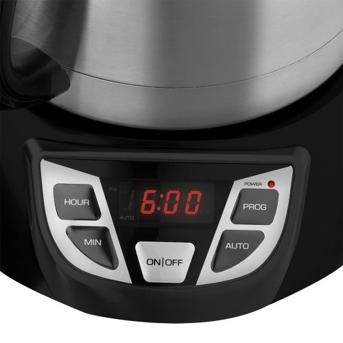 Black & Decker CM1509 8-Cup Programmable Coffeemaker with Thermal Carafe Best Coffee Pots