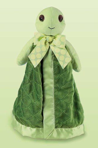 "Tiggles Turtle Snuggler 15"" by Bearington"