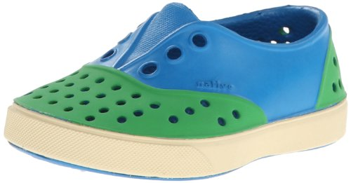Native Kids Miller Child Dress Sandal ,Galaxy Blue/Grasshopp
