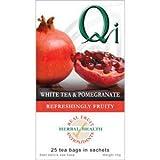 Qi Org White & Pomegranate Tea 20 Bag - CLF-QI-NWP32