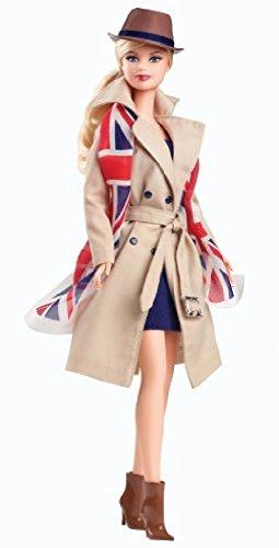 Barbie Collector Barbie Doll of the World UK Pink label X8426 doll figure girl günstig bestellen