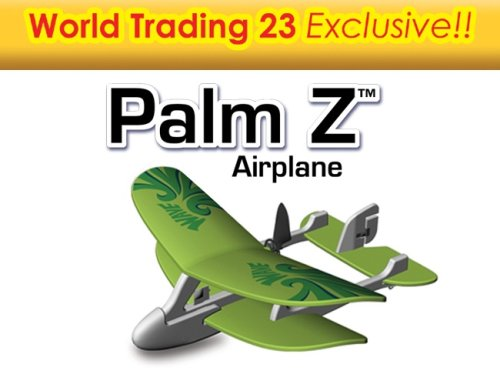 Buy World Trading 85659IR-GRN 23 Palm Z Remote Controlled Airplane – Green