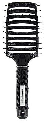 Keratin Complex Curved Vent Brush - Black